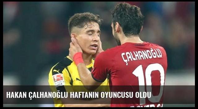 Hakan Çalhanoğlu Haftanın Oyuncusu Oldu