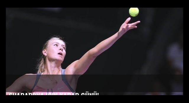 Sharapova için karar günü!