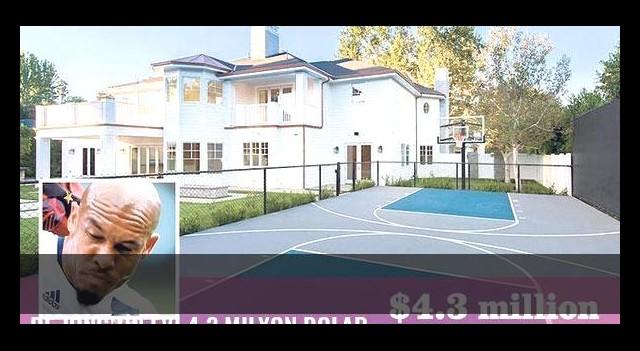 De Jong'un evi 4.3 milyon dolar
