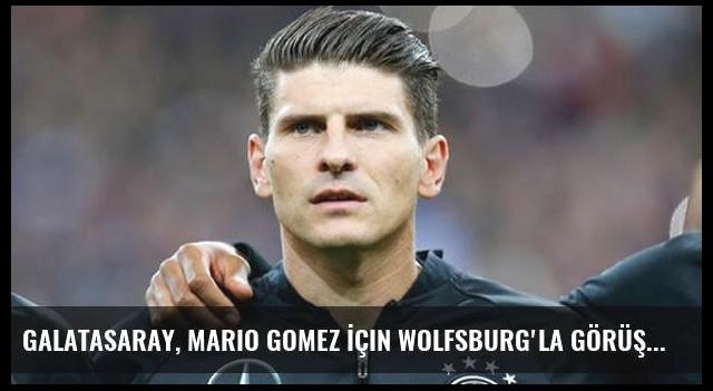 Galatasaray, Mario Gomez İçin Wolfsburg'la Görüştü