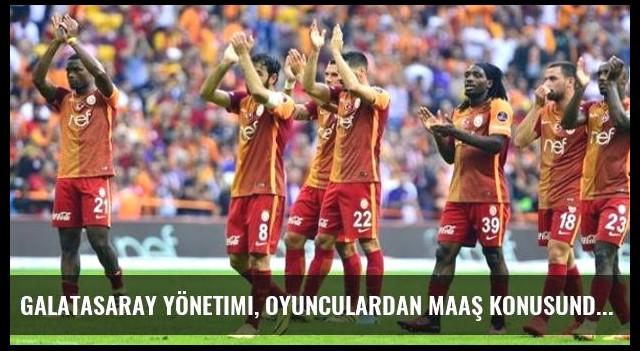 Galatasaray Yönetimi, Oyunculardan Maaş Konusunda Tolerans İstedi