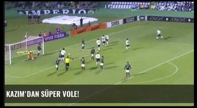 Kazım'dan Süper Vole!