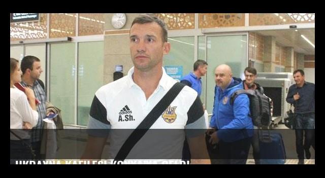 Ukrayna kafilesi Konya'ya geldi