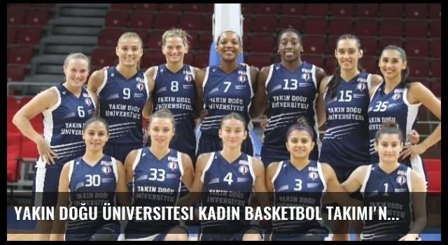 Yakın Doğu Üniversitesi Kadın Basketbol Takımı'nın Avrupa Heyecanı Başlıyor