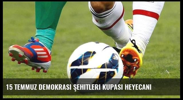 15 Temmuz Demokrasi Şehitleri Kupası heyecanı