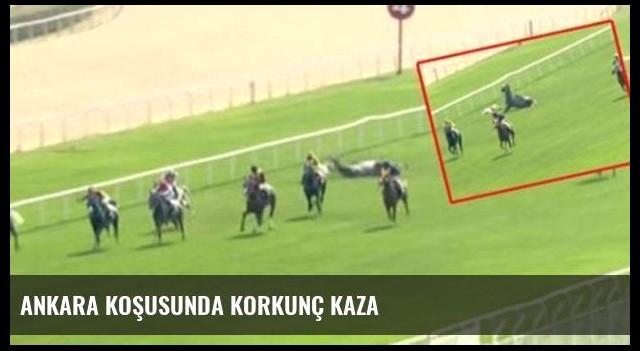 Ankara koşusunda korkunç kaza