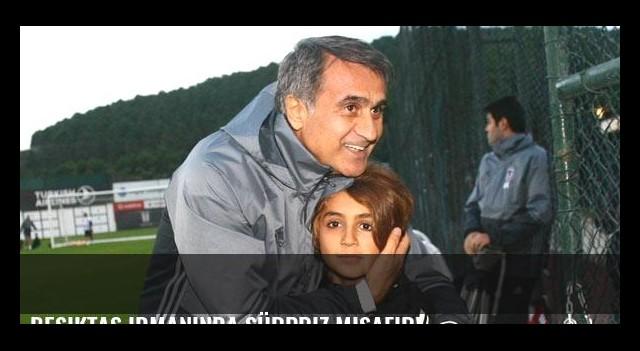 Beşiktaş idmanında sürpriz misafir!