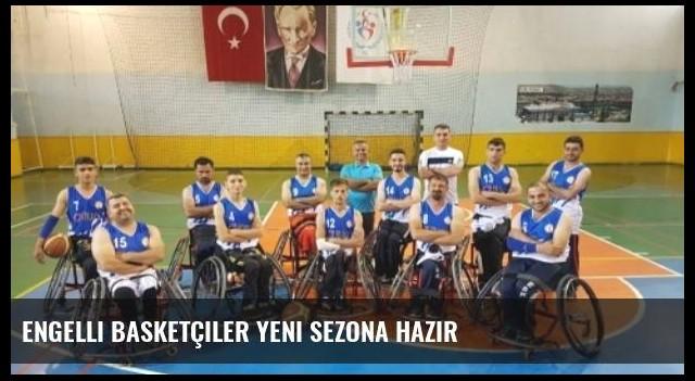 Engelli Basketçiler Yeni Sezona Hazır