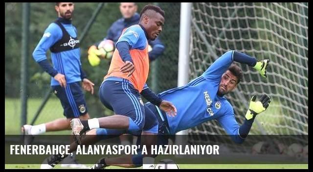Fenerbahçe, Alanyaspor'a hazırlanıyor
