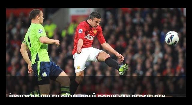 İngiltere'nin en güzel golü Robin van Persie'den