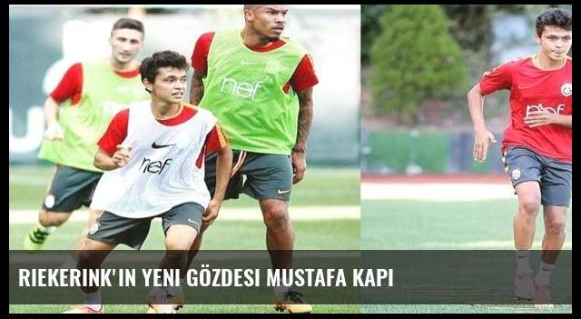 Riekerink'in yeni gözdesi Mustafa Kapı