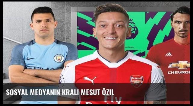 Sosyal medyanın kralı Mesut Özil