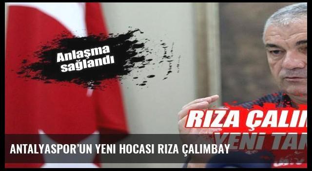 Antalyaspor'un yeni hocası Rıza Çalımbay