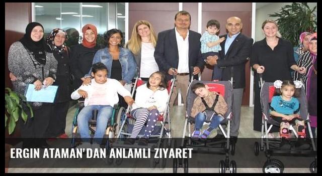 Ergin Ataman'dan anlamlı ziyaret