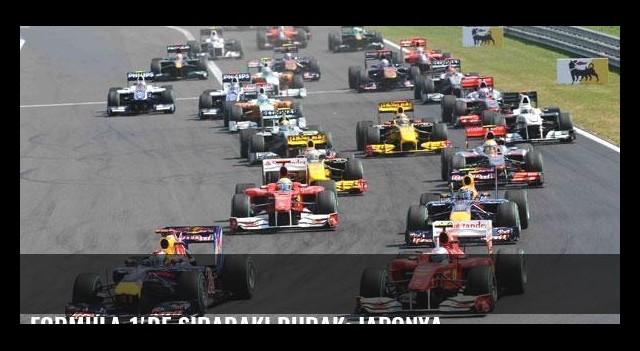 Formula 1'de sıradaki durak: Japonya