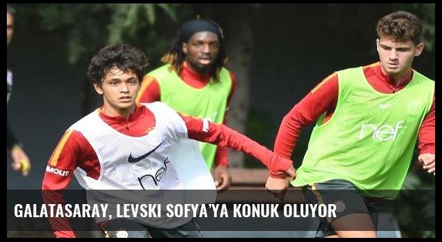 Galatasaray, Levski Sofya'ya konuk oluyor
