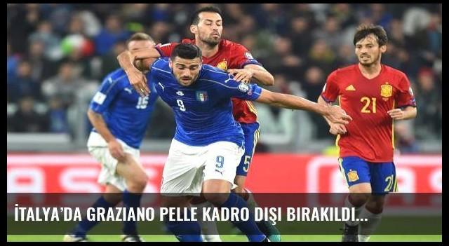 İtalya'da Graziano Pelle kadro dışı bırakıldı