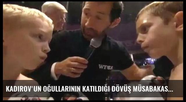 Kadirov'un Oğullarının Katıldığı Dövüş Müsabakası Görüntüleri Tepki Çekti