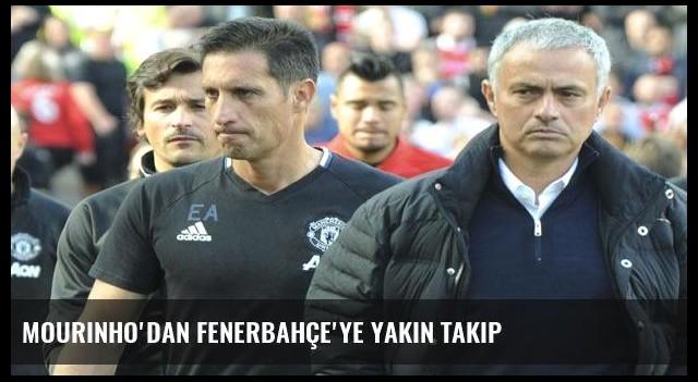 Mourinho'dan Fenerbahçe'ye yakın takip