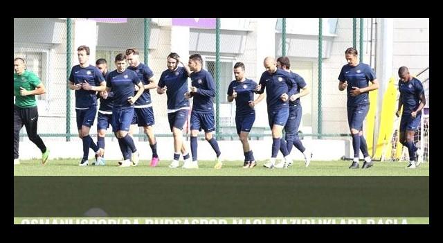 Osmanlıspor'da Bursaspor maçı hazırlıkları başladı