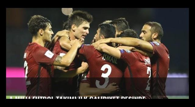 A Milli Futbol Takımı ilk galibiyet peşinde