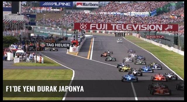 F1'de yeni durak Japonya