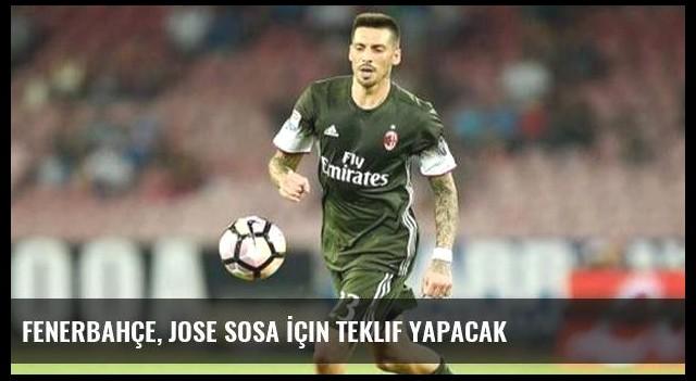 Fenerbahçe, Jose Sosa İçin Teklif Yapacak