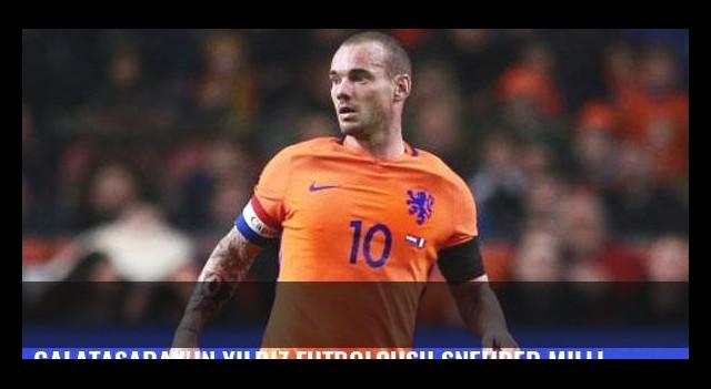 Galatasaray'ın yıldız futbolcusu Sneijder milli takımda sakatlandı