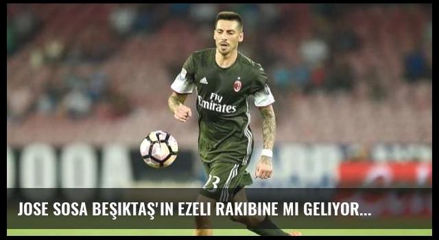Jose Sosa Beşiktaş'ın ezeli rakibine mi geliyor?