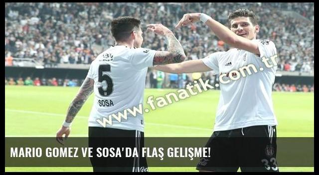 Mario Gomez ve Sosa'da flaş gelişme!
