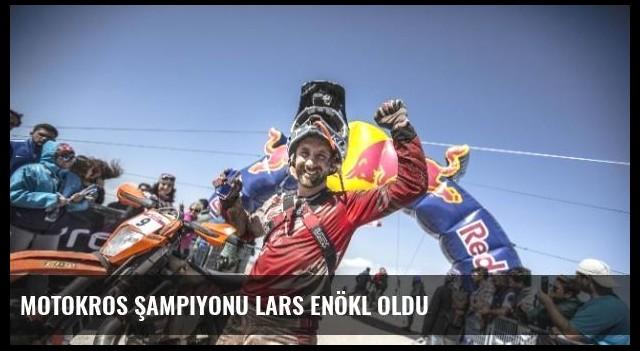 Motokros Şampiyonu Lars Enökl Oldu