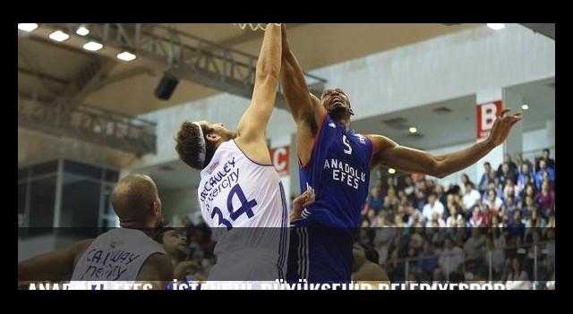 Anadolu Efes - İstanbul Büyükşehir Belediyespor: 95-67