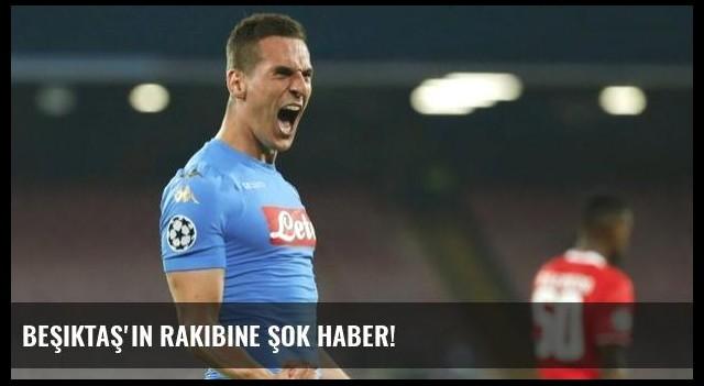 Beşiktaş'ın rakibine şok haber!