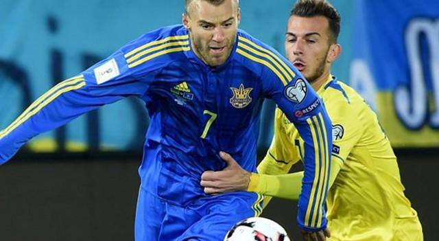 Ukrayna'dan 3 gollü galibiyet!