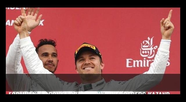 Formula 1 Japonya Grand Prix'sini Rosberg kazandı