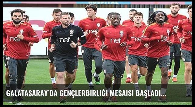 Galatasaray'da Gençlerbirliği mesaisi başladı