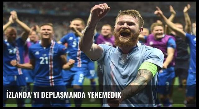 İzlanda'yı deplasmanda yenemedik