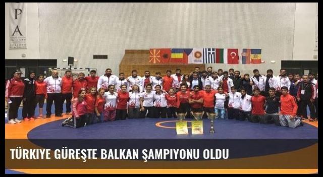 Türkiye güreşte Balkan Şampiyonu oldu
