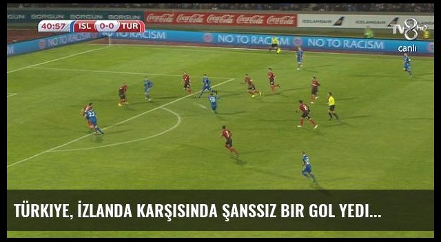 Türkiye, İzlanda Karşısında Şanssız Bir Gol Yedi