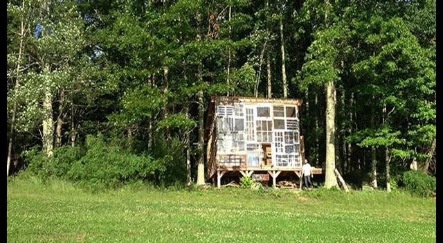 Hayallerindeki evi pencereden yaptılar üstelik 500 dolara