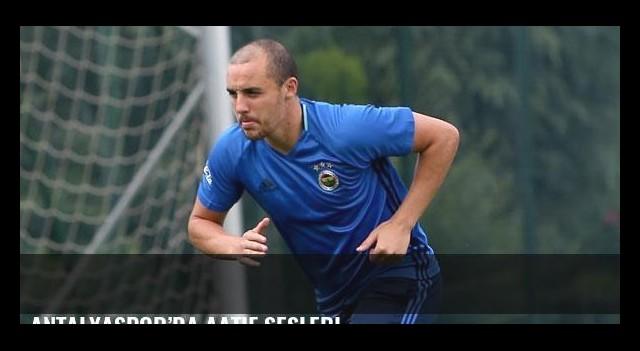 Antalyaspor'da Aatif sesleri