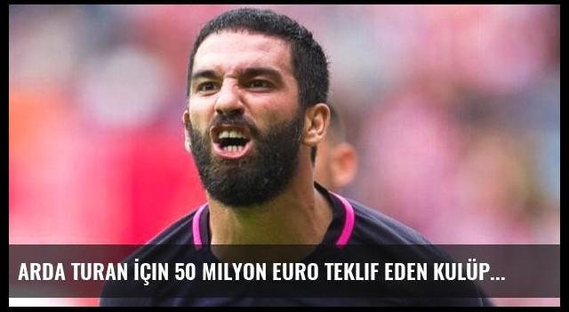 Arda Turan İçin 50 Milyon Euro Teklif Eden Kulüp Evergrande