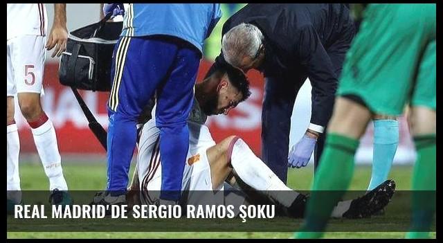 Real Madrid'de Sergio Ramos şoku