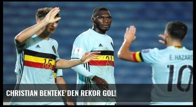 Christian Benteke'den rekor gol!