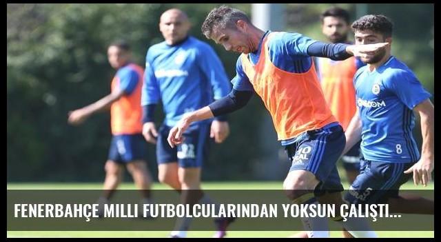 Fenerbahçe milli futbolcularından yoksun çalıştı