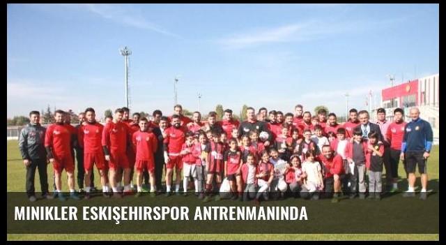 Minikler Eskişehirspor Antrenmanında