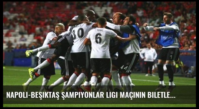 Napoli-Beşiktaş Şampiyonlar Ligi maçının biletleri satışa çıktı