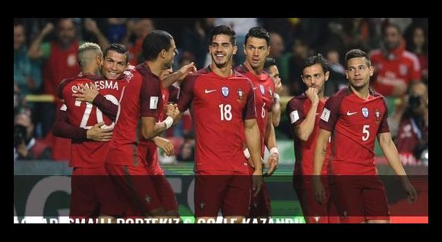 Quaresma'lı Portekiz 6 golle kazandı!