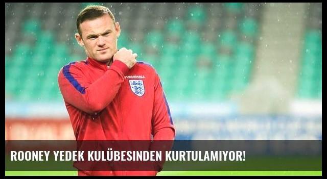 Rooney yedek kulübesinden kurtulamıyor!