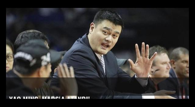 Yao Ming, Mars'a atandı!
